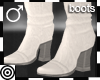 *m White Dandy Boots