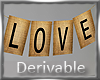 WEDDING Love banner