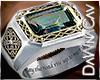 Silver Mystic Topaz Ring