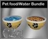 C2u Pet food/Water bndl