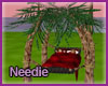 Amore Isle Palm Tree Bed