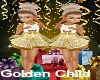 Golden Child Party Dress