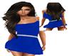 cheeky blue mini slim