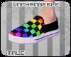 [U]Rainbow Vans - M
