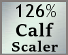 Scale Calf 126% M A