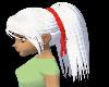 White Ponytail