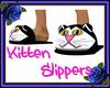 Cute Kitten Slippers