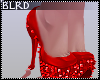 b| Red Sparkle Heel