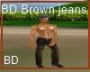 [BD] BD Brown Jeans