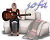 couples sofa w guitar