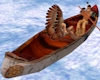 Native Birchbark Canoe
