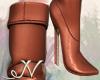 N. Bronze Boots