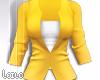 ! L! Yellow White Jacket