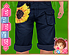 !! Kids Sunflower Shorts