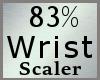 Scale Wrist 83% M A