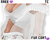 ® Tc. White Fur Coat