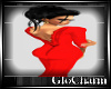 Glo* Desi Backless~Red