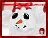 *S Snowman Hand