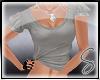 [Sev] Plain Gray Shirt
