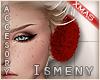 [Is] Fur Ear Warmers Red