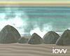 "Iv""Water Stone Splash"
