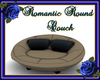 Romantic Round Couch