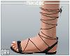 NKC_Tie up sandals Black