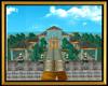 Teal Lakefront Mansion