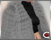 *SC-Fur Coat Grey Layrbl