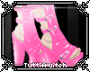 TF. pink  boots
