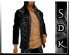 #SDK# Dark Jacket Brown