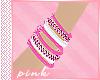 Pink Bracelets L | F