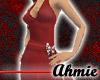 Halter Dress - Red