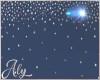 Moon Falling Stars
