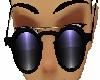 Skys Purple Sunglasses