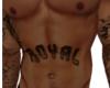Royal Stomach Tattoo