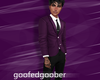 🦑 Purple Suit Jacket