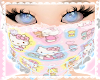h.kitty lace mask! ♡