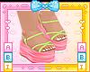 Kids Lime Sandals