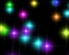 Rainbow Floor Particles