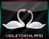 Animate Swans in Love