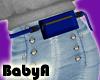 ! BA RLS Navy Belt Bag