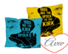 Pillows Spock/Kurt