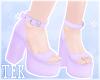 [T] Heels Purple