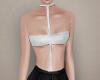 Bodysuit, white.