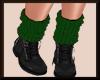 Fall Knit Boots BlkGREEN