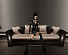 Kiss sofa w/pose