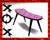 Pink Swirl C Table