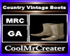 Country Vintage Boots