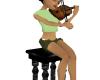 Violin & Stool